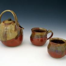 Teapot & Cups