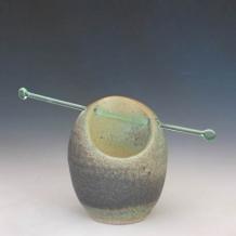 Glass Rod Pierced Form