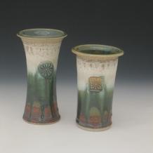 Ash Glaze Vases