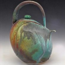 Ash Glaze Teapot
